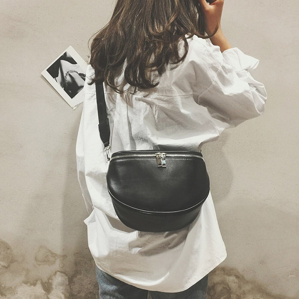 2020 New Fashion Wild Leather Women Shoulder Bag Black Women Messenger Bag Famous Brands Women Bag Handbag