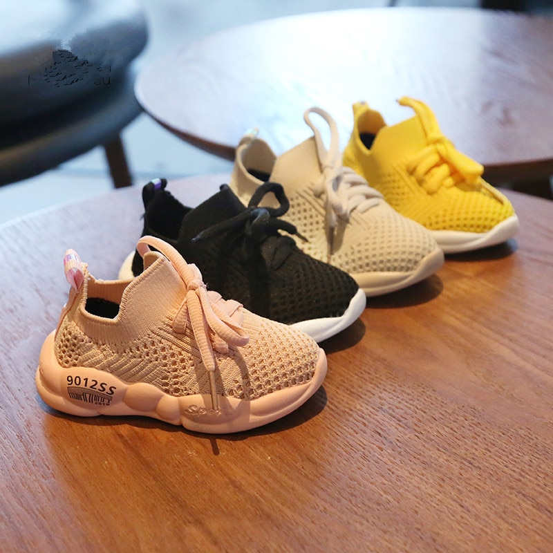 2020 Neue Atmungsaktive Mesh Turnschuhe 0-2y Baby Jungen Infant Kleinkind Erste Wanderer Bebe Mädchen Schuhe Weiche Beiläufige Laufende Kokos Schuhe
