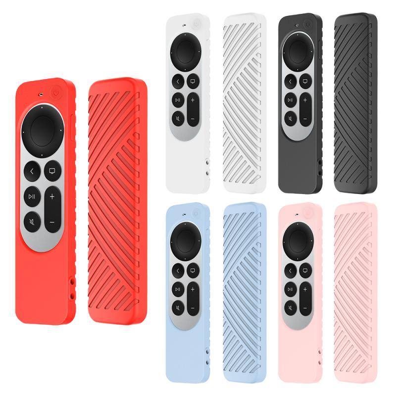 Funda protectora antipérdida para Apple TV 4, 2021, Control remoto, antideslizante, silicona...