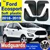 Ailes d'ailes avant et arrière pour Ford Ecosport garde-boue 2018 garde-boue accessoires