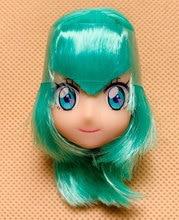 Japan Anime Doll Head Lica Cartoon Girl Doll Head Lovely Doll Head for 20cm Body