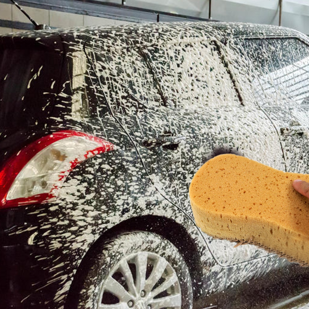 1pc Sponge Car Washer Washing Cleaning Block Honeycomb Multi-functional Cloth car accessries