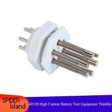 50pcs /lot 42120 High Current Thimble Needle 60A 38120 Battery Test Equipment Needle 60 A Battery Thimble Battery Probe Needle