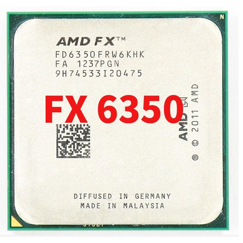 AMD FX 6350 3.9GHz ستة النواة معالج وحدة المعالجة المركزية FD6350FRW6KHK المقبس AM3 +