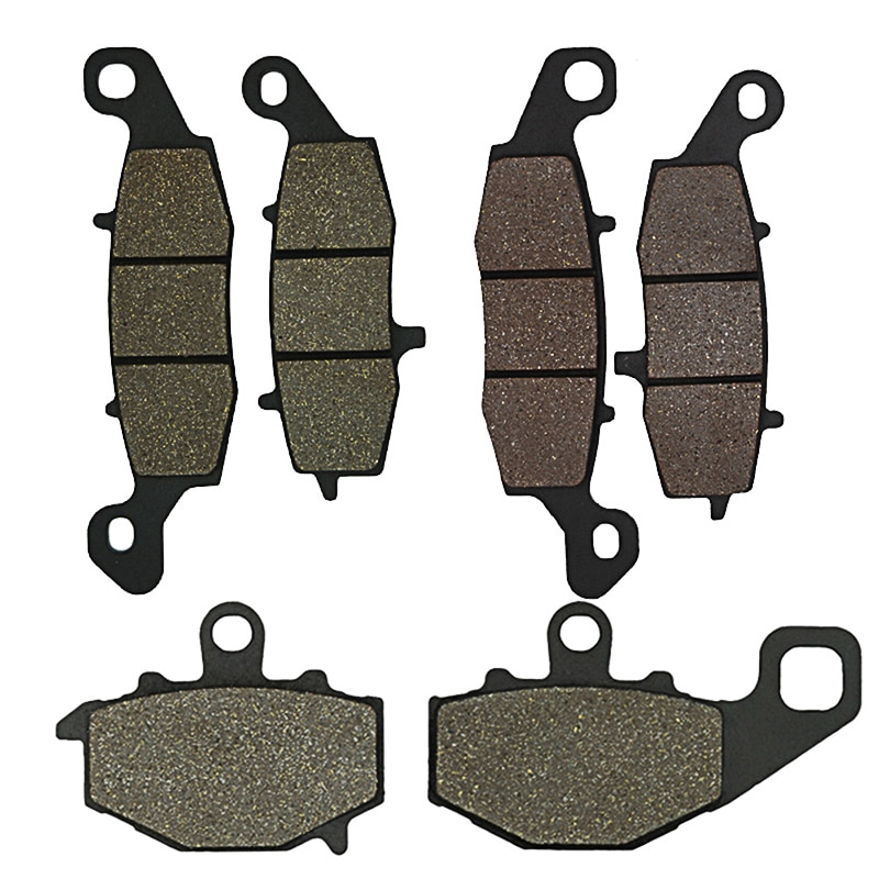 Motorcycle Parts Front and Rear Brake Pad for Kawasaki Z750  ZR750 Z750S ZRX400E EX650 Ninja ER650C ER6N Brake Disks
