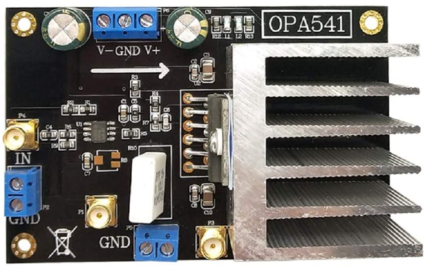 Taidacent OPA541 OP AMP High Power Monolithic Operational Amplifier 5A Current High Voltage Audio Amplifier Board enlarge
