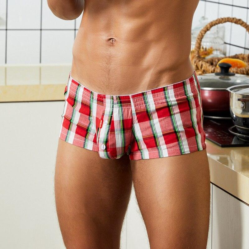 2021 мужчины% 27 одежда для сна гостиная шорты хлопок плед тонкие домашние боксеры шорты мужчины пижамы сна штаны
