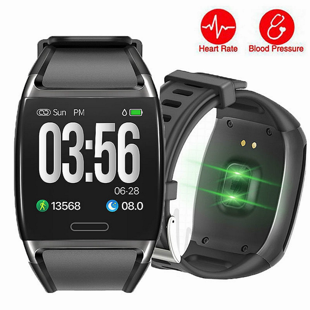 Large Color Screen Fitness Tracker Smart Bracelet Heart Rate BP Waterproof Smart Watch Sleep Monitor Pedometer Calorie Counter