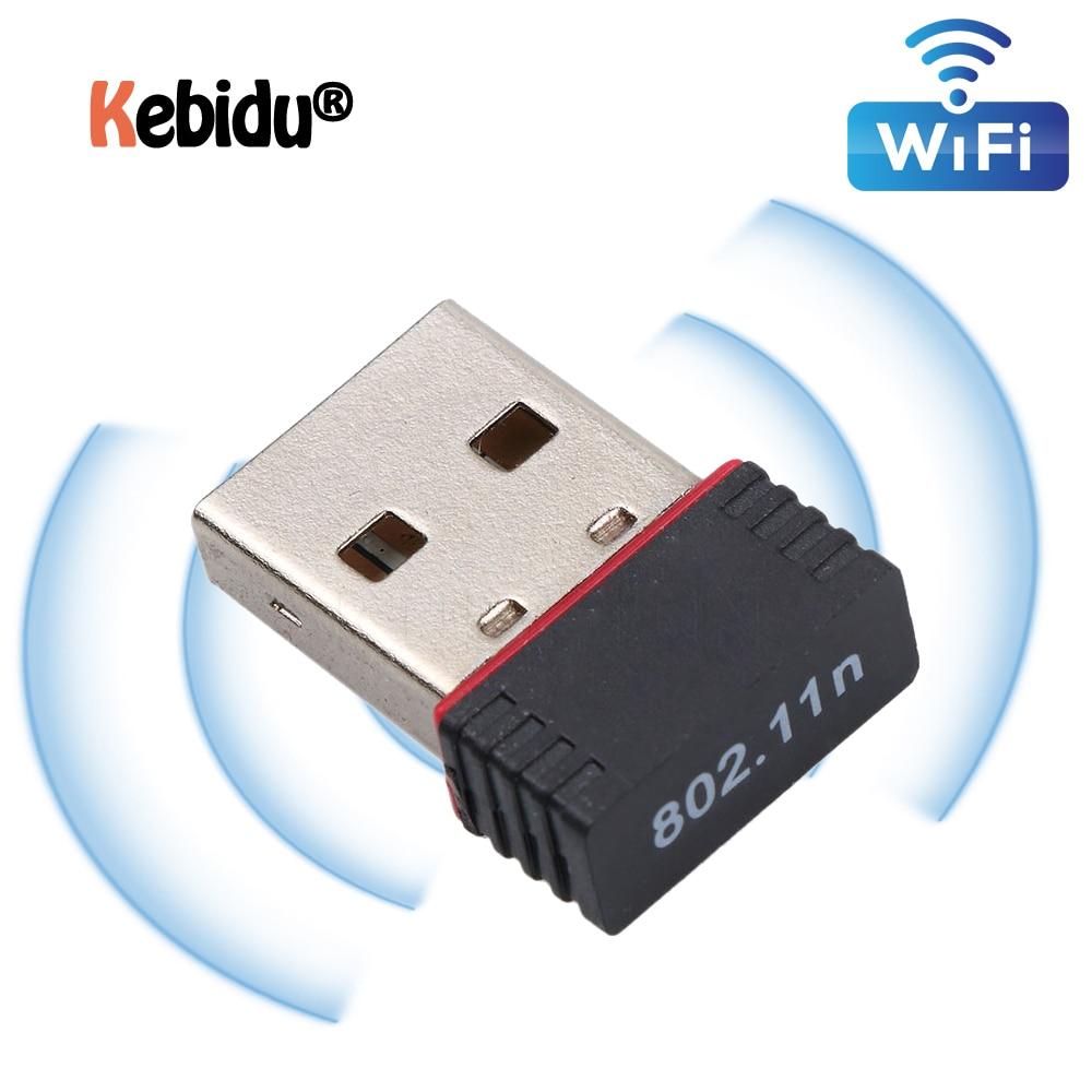 Latest Network Card USB 2.0 WiFi Wireless Adapter Network LAN Card 150Mbps 802.11 N/g/b MT7601/RTL8188EU Adaptor For PC Desktop