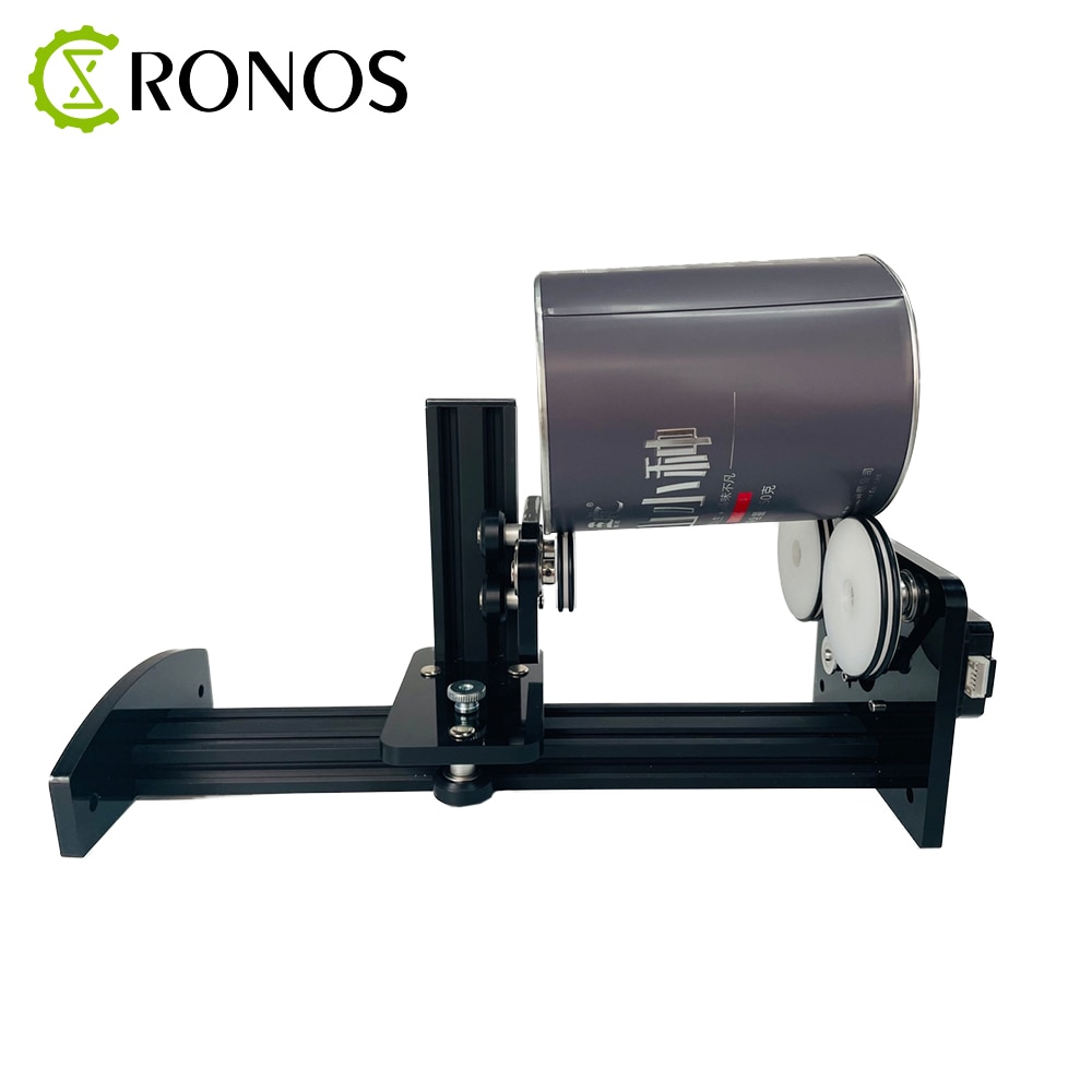 CNC 2 Phase Rotary Y Axis Attachment Stepper Motor Roller Rotation Rotate Engraving For Cutting Machine enlarge