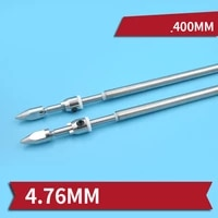 1pc 4 76mm flexible shaft assembly positivereserve 400mm drive shaftsaxle bushingpropeller adapter for rc brushless jet boats
