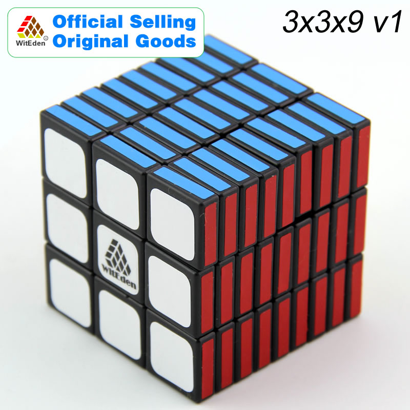 witeden mixup 3x3x4 plus magic cube 334 cubo magico professional neo speed cube puzzle antistress fidget toys for children WitEden 3x3x9 Magic Cube v1 339 Cubo Magico Professional Speed Neo Cube Puzzle Kostka Antistress Toys For Children
