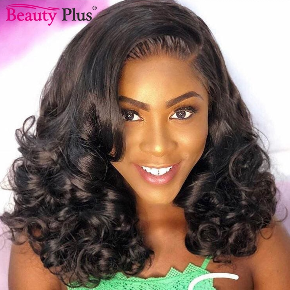 Brazilian Bouncy Curly Hair Bundles With Closure Remy 10A Human Hair Weft Funmi Hair 3/4 Weaves With 13x4 Lace Frontal Baby Hair