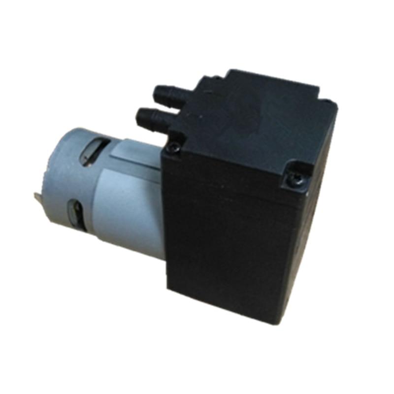 Micro DC Vacuum Pump 12V Diaphragm Pump 24V Micro Air Pump with large flow and high pressure kamoer kvp04 12v 24v mini diaphragm vaccum pump electric air pump with low flow rate 1 1l min and low noise