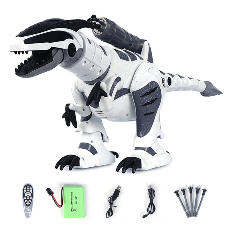 RC Robot Dinosaur Intelligent Interactive Smart Toy Electronic Remote Control Tyrannosaurus Collectible Model Gift