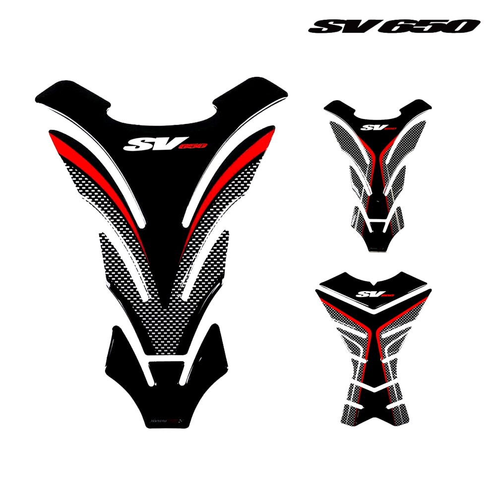 Protector for Suzuki SV650 SV650S SV650X SV 650 Tank Pad 3D Sticker Tankpad for SV650 Stickers