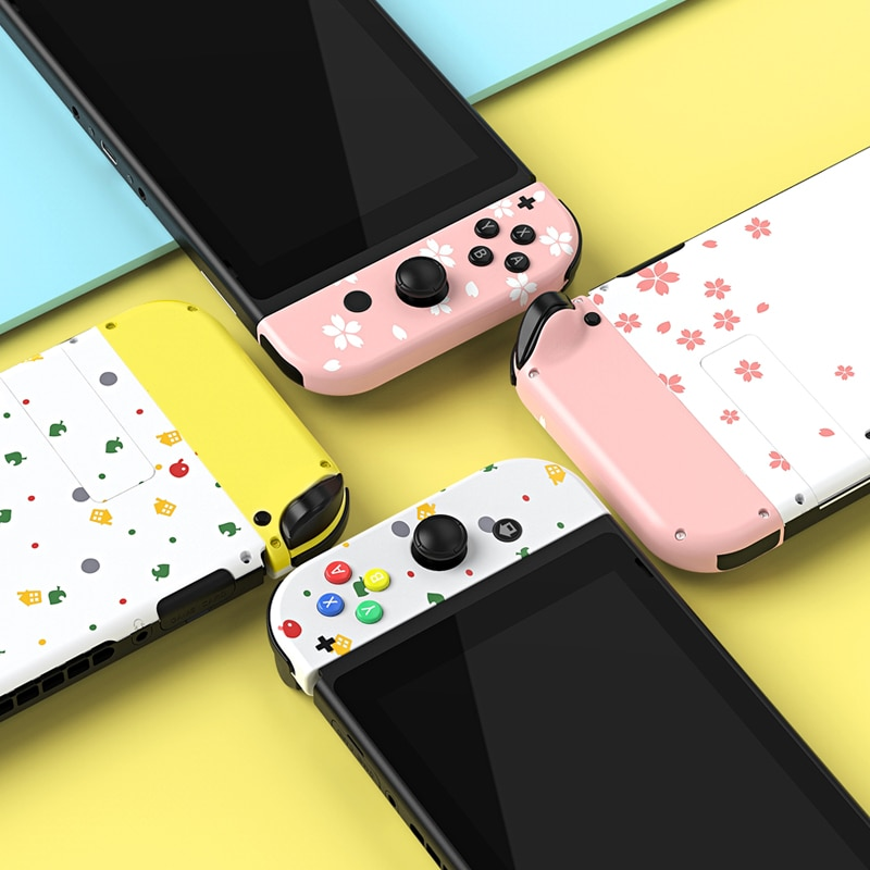 For Joycon Shell Case Nintend Switch NS Controller Joy-Con Cherry Fresh Replacement Protection Cases for Nintend Switch enlarge