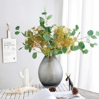 silk gypsophila 65cm branch christmas table decoration home indoor fake plant artificial flower for wedding ins style home decor