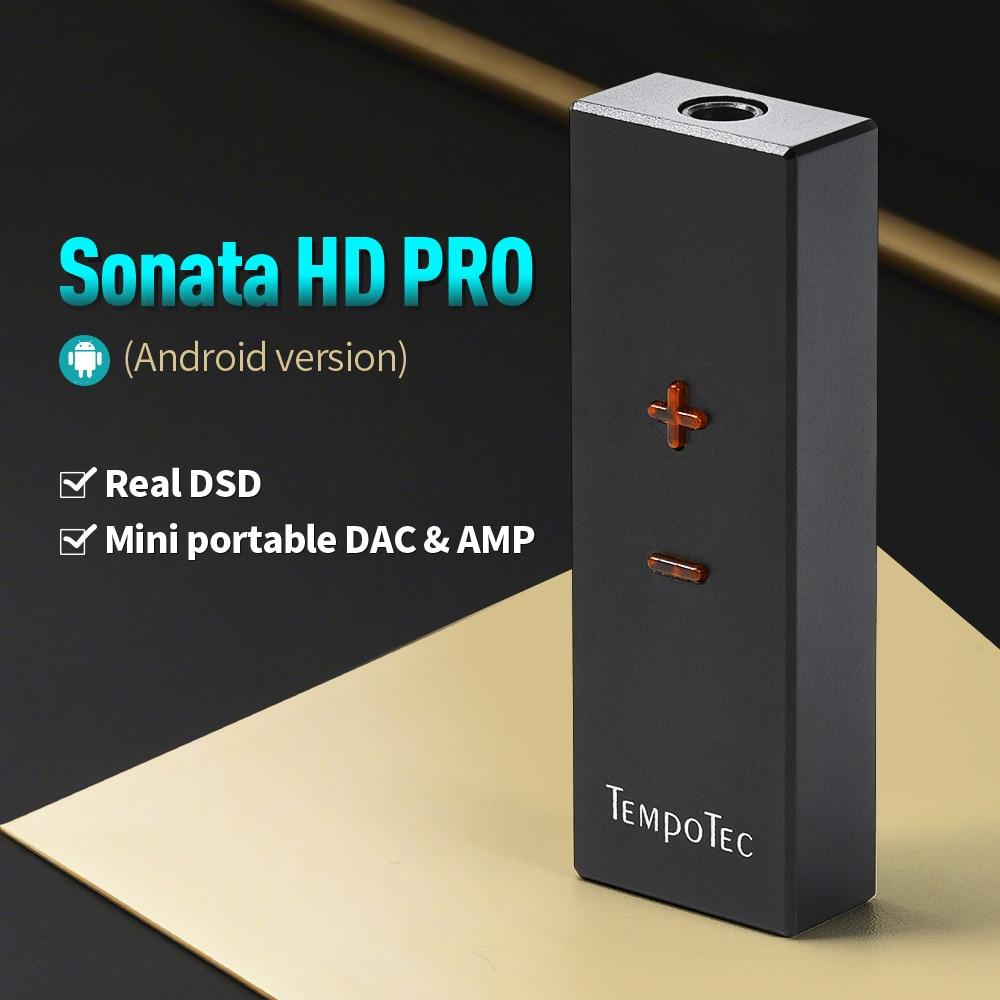 Tempotec (sonata hd pro para android/pc) amplificador de fone de ouvido alta fidelidade decodificação usb tipo c para 3.5mm adaptador dac portátil áudio para fora