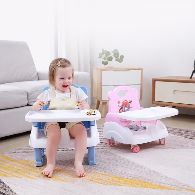 Складное детское кресло для кормления, уличное многофункциональное портативное детское обеденное кресло, детский табурет с регулируемой в...