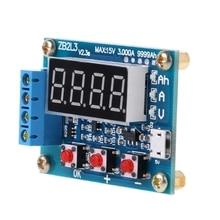 ZB2L3 Li-Ion Lithium-Blei-säure Batterie Kapazität Meter Entladung Tester Analyzer R9JC