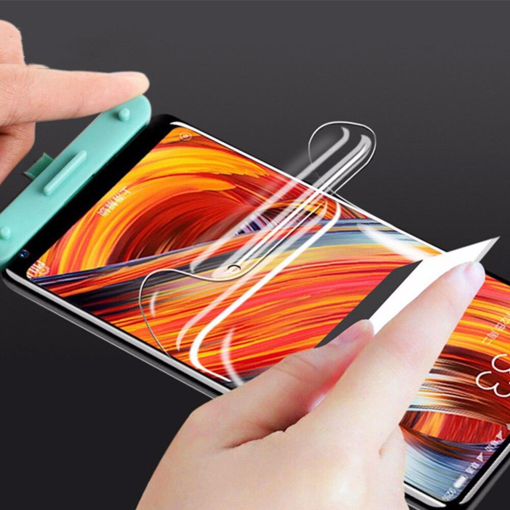 Protective Soft Hydrogel Film For Xiaomi Mi 9 SE Mi 8 Lite Mix3 Max3 Screen Protector Film For Xiaom Redmi Note 8 7 6 K20 Pro 7