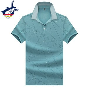 Gift for father/husband solid polo shirt men fashion Geometric design Summer shirts brand men's clothes green pink blue polos