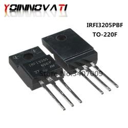 10PCS IRFI3205PBF IRFI3205 FI3205 TO-220F 55V 64A MOS FET novo e original