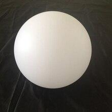 Skybesstech usine directe D12cm D15cm D20cm D25cm noël maison barre décoration plastique PE boule coquille blanche livraison gratuite 1pc