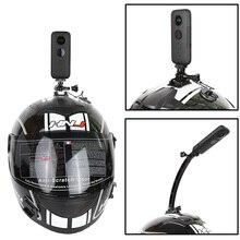 Support de casque de moto pour Insta360 One X bras en alliage daluminium pour xiaomi yi 4k Action accessoires de caméra panoramique