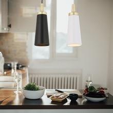 Artpad suspension lampe luminaire moderne pour café Bar Restaurant maison décorative lampe à Led E27 noir/blanc lampe suspendue