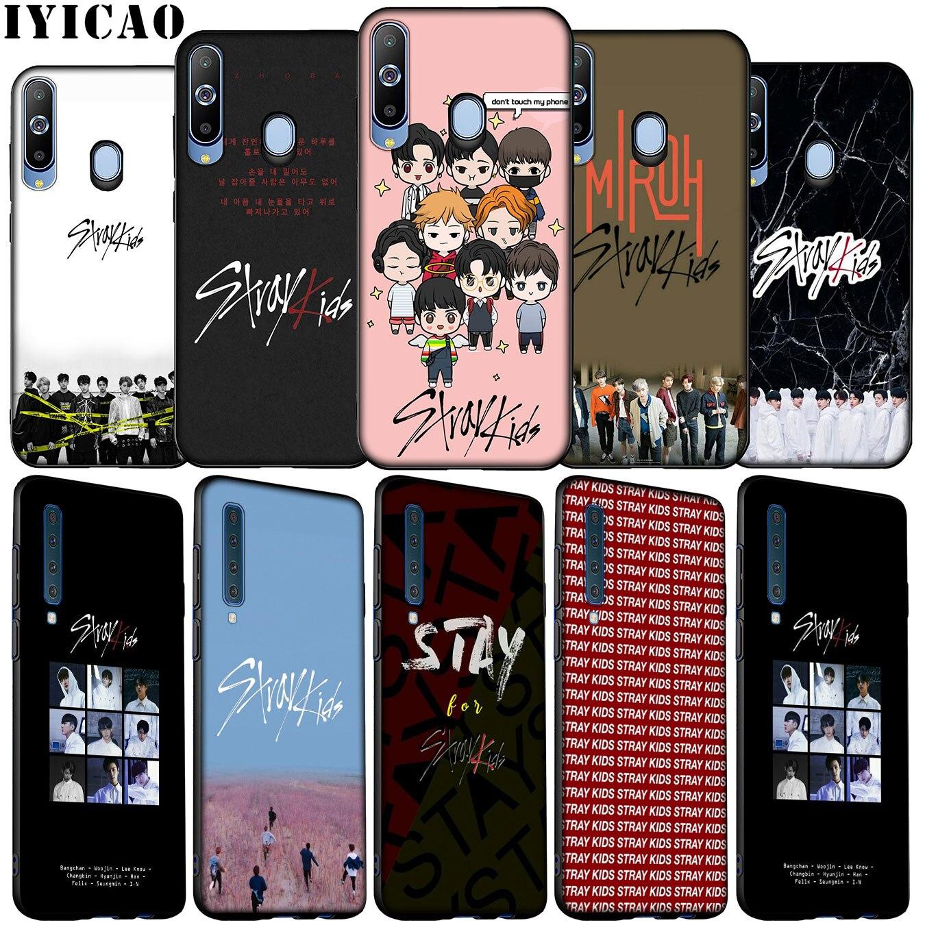 KPOP Vadios Crianças Soft Case de Silicone para Samsung Galaxy A70 A50 A60 A40 A30 A20 A10 M10 M20 M30 M40 A20E Capa