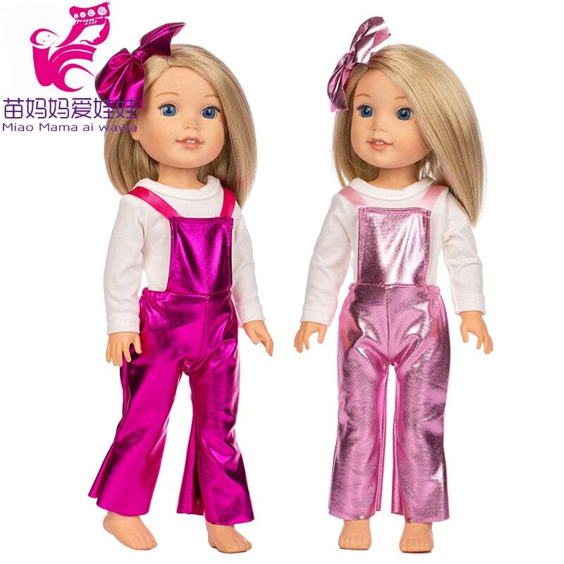 Ropa para muñeca Wellie Wishers de 14,5 pulgadas, pantalones, pantalón, prendas de regalo para chica, prendas de 38cm, prendas de vestir de nancy Ashlyn Kendall Emerson