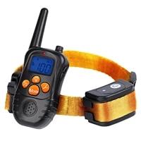 stop device aid dog anti bark collar ultrasonic rechargeable dog training collars waterproof vibration dog stop barking