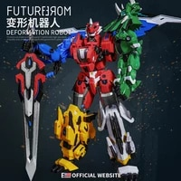 5 in 1 transform dinosaur toys action anime figure robot assemble deformed educational toys for children boys christmas gifts