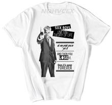Trainspotting unisexe T-Shirt film nouveau Style dété homme imprimer Hipster couverture en coton t-shirts chemise