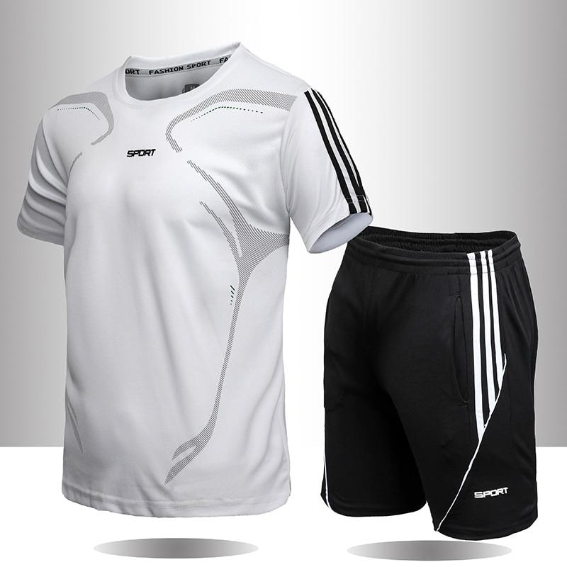 Camiseta Deportiva Para Correr 5XL, Gimnasio, Manga Corta, Fútbol, Baloncesto,Tenis,Conjunto Deportivo rápido
