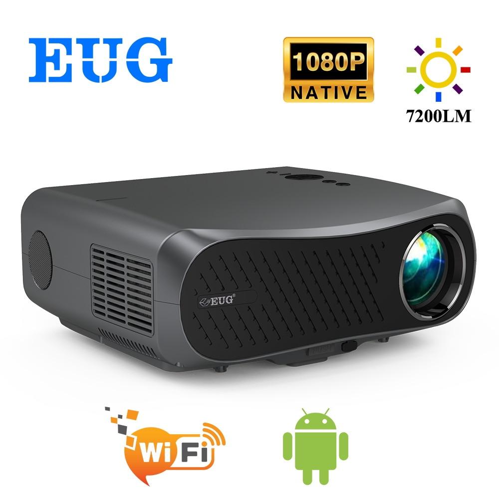 جهاز عرض مسرح منزلي LCD 900DAB Full HD ، 1920x1080P ، 7200 لومن ، LED ، Android ، WiFi ، Bluetooth ، HD ، 3D