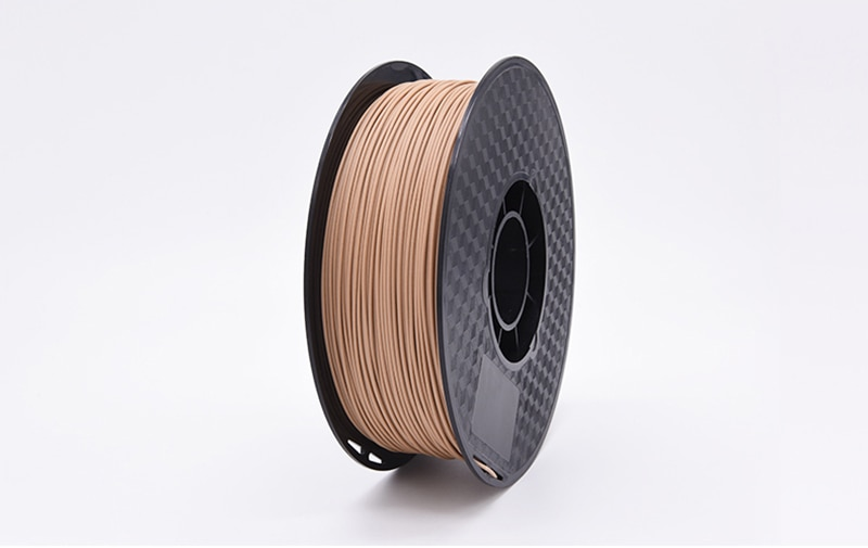 3D printer consumables Wood plastic material PLA 1.75mm Wood color Wood grain fiber wire 1kg 3D Printing wood consumables enlarge