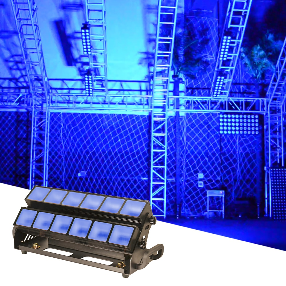 36x3 واط RGBW 4in1 LED ضوء إحترافي DMX512 DJ ديسكو كامل اللون تأثير ضوء led موسيقى حفل زفاف بار نادي KTV غسل أضواء