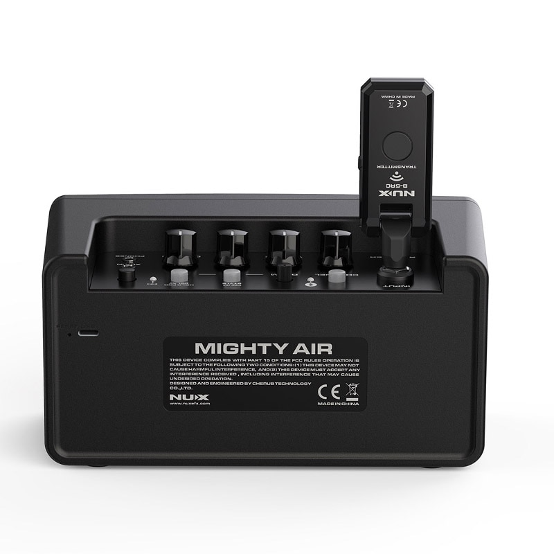 NUX Mighty Air Wireless Guitar Amplifier Portable Stereo Modeling Amplifier with Bluetooth For Acoustic Electric Guitar Speaker enlarge