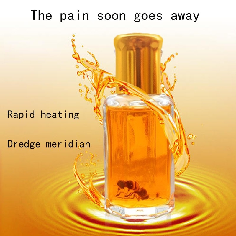12ml bee venom oil for joint pain waist and foot pain bruises back pain back pain back pain health c