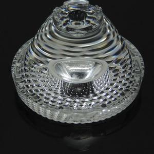 5pcs LED Lens Small Angle Condenser Lens Stage Lights Spotlight Lens PMMA Material