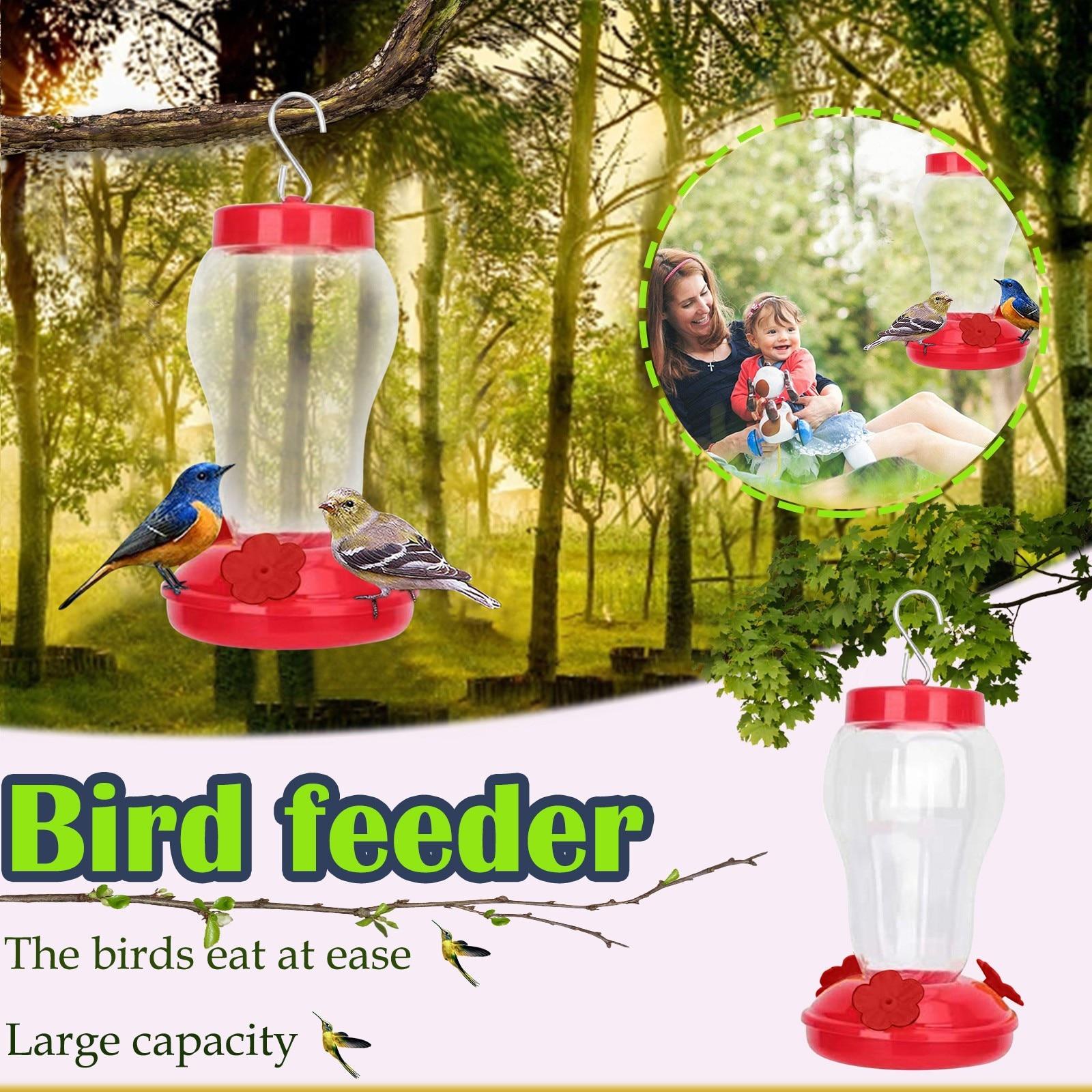 Alimentador de aves a prueba de lluvia Para patio, patio, Villa, balcón,...