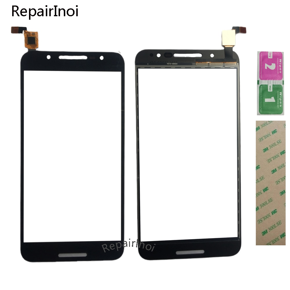 10Pcs 5.5'' Touch Screen For Alcatel A7 5090 5090Y 5090A Touch Screen Digitizer Panel Glass Assembly Repair 3M Glue