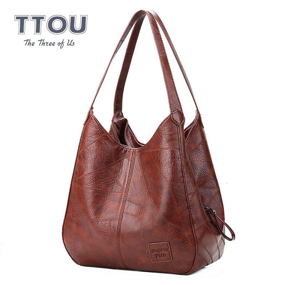 Moda de luxo feminina topo-bolsa de grande capacidade livro segurar compras bolsa de ombro vintage durável couro do plutônio para o lad bolsa de viagem