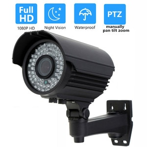 OwlCat водонепроницаемая/уличная HD 1080P AHDH пуля AHD камера 2.0MP варифокальный 2,8-12 мм ручной зум безопасности CCTV аналоговая HD камера