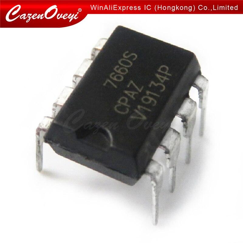 10 pcs/lot ICL7660CPAZ ICL7660C ICL7660CPA ICL7660CP ICL7660 DIP8 En Stock