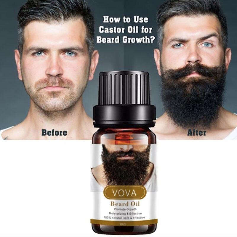 Aceite Para el crecimiento de la Barba Para Hombre, Kit de Aceite...