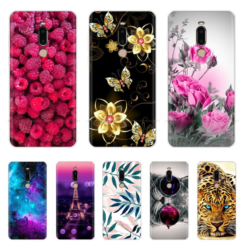 Soft Silicone Phone Case For Meizu M8 Case Animal Flower TPU Cover For Meizu M8 Lite Case Silicone Bumper Coque For MeizM8 Cover
